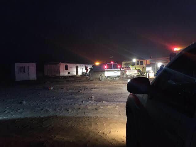 وفاة ٦ أشخاص في حريق سكن لعمال شركة بـ #الخرج (1)