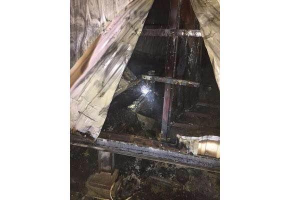وفاة ٦ أشخاص في حريق سكن لعمال شركة بـ #الخرج (2)