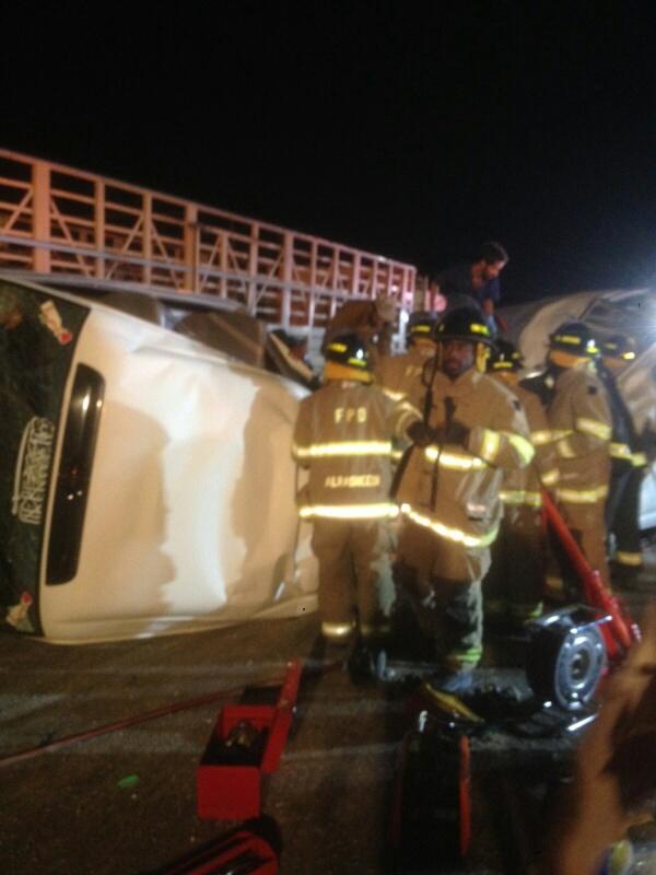 وفاة 11 مقيمًا وإصابة 14 في حادث سير بـ #الأحساء (10)