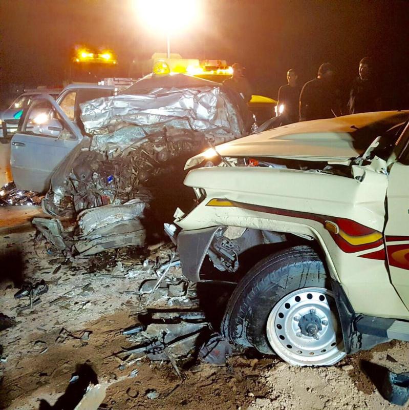 وفاة 3 في حادث تصادم مروع على طريق المدينة - تبوك