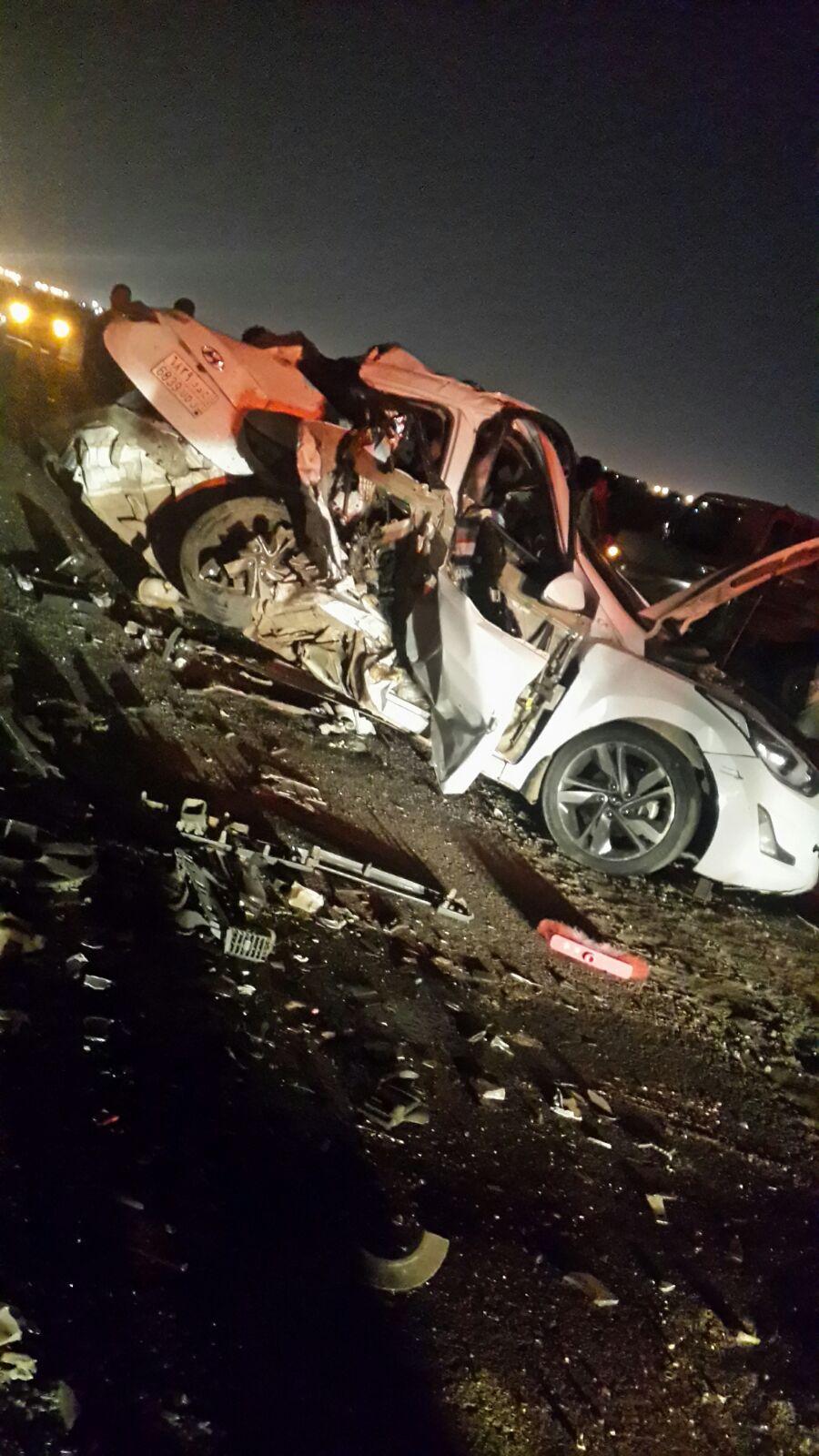 وفاة 5 وإصابة حرجة في حادث تصادم بمسارحة #جازان (3)