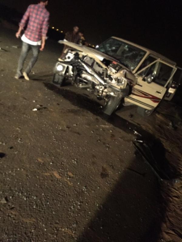 وفاتان و5 إصابات حصيلة 3 حوادث مرورية بطرقات جازان (1)