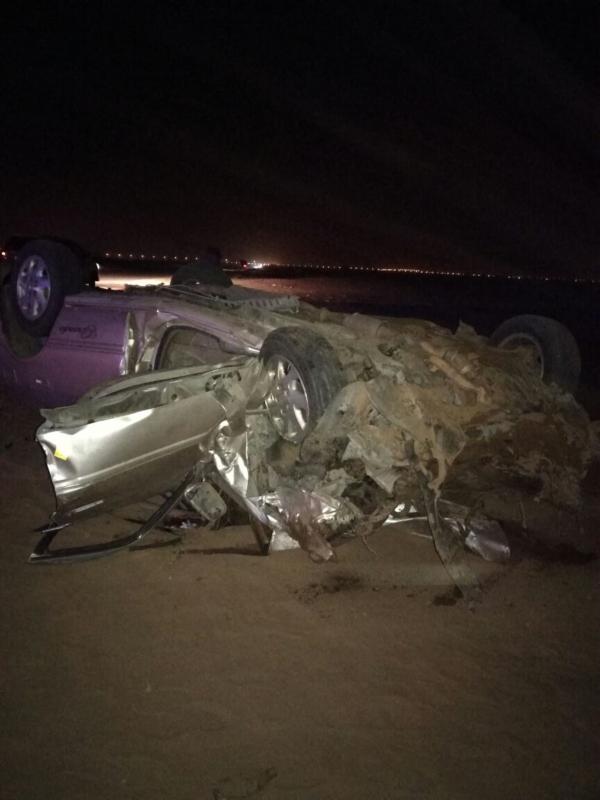 وفاتان و5 إصابات حصيلة 3 حوادث مرورية بطرقات جازان (2)