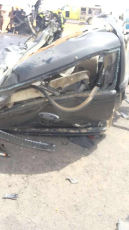 وفاتين وإصابتين في حادث (1) 