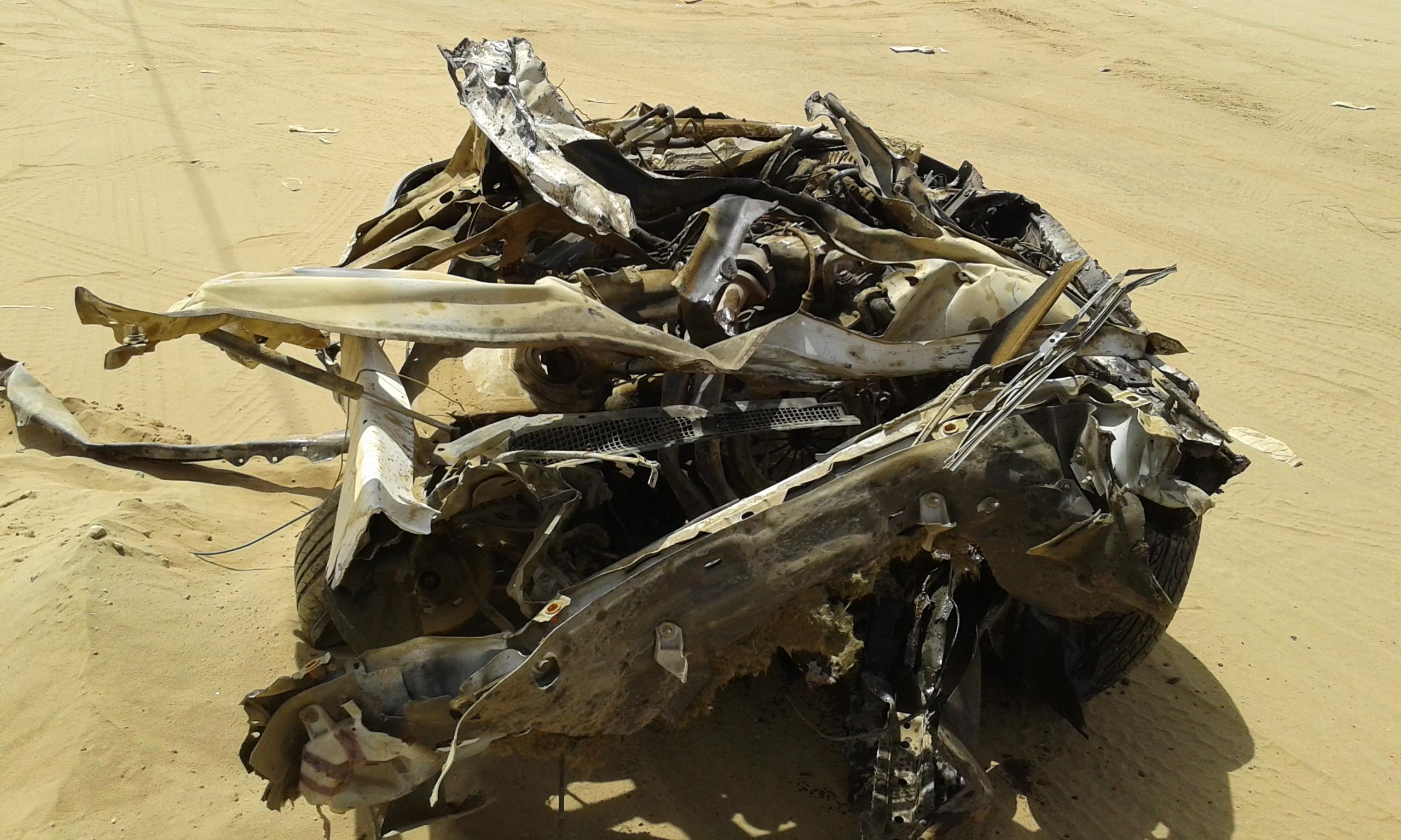 وفاتين و4 إصابات حرجة في حادت تصادم بجازان (2)