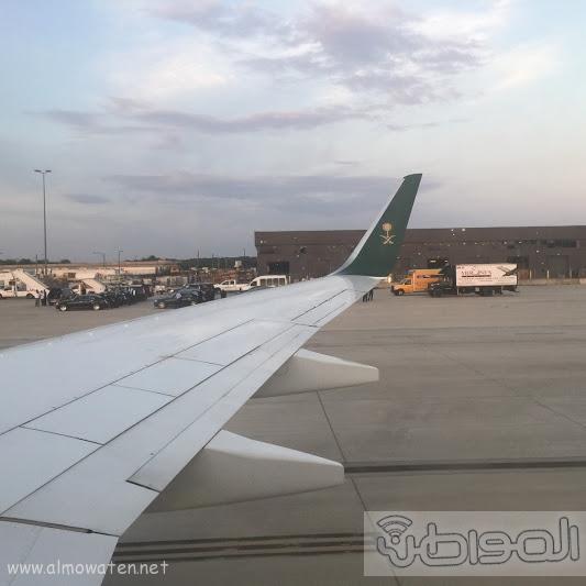 وفد إعلامي سعودي كبير يصل واشنطن لمرافقة ولي ولي العهد (2)