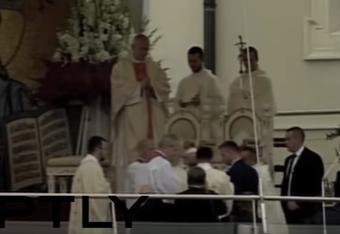 وقوع البابا