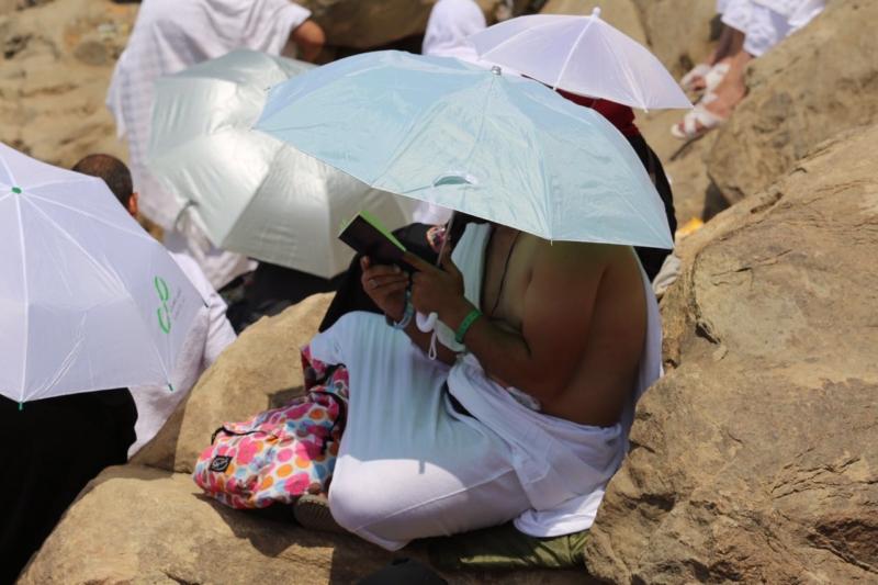 وقوف الحجاج في عرفة (85600806) 