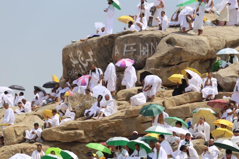 وقوف الحجاج في عرفة (85600825) 
