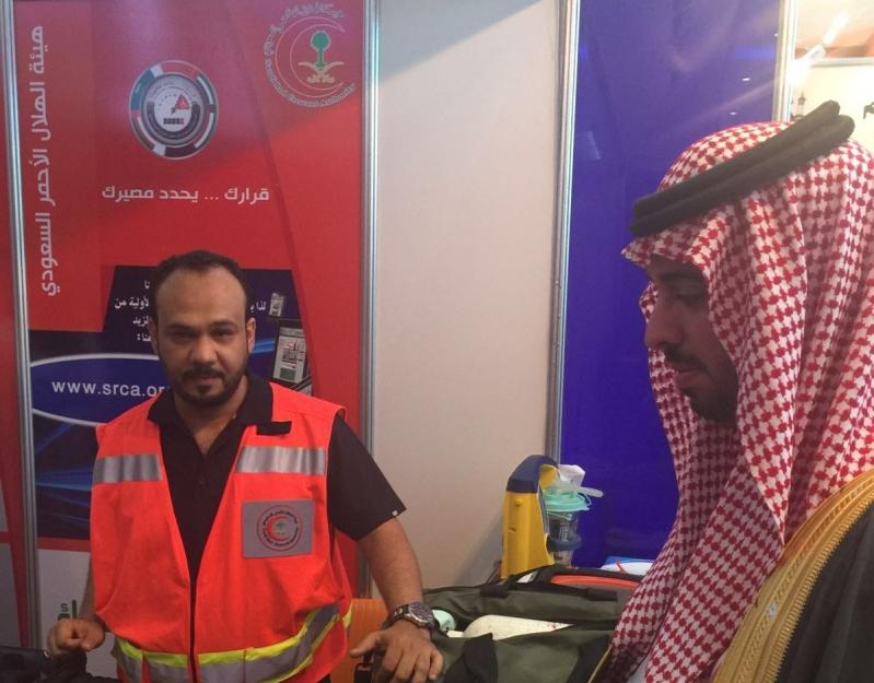 وكيل إمارة مكة يفتتح أسبوع المرور بمشاركة الهلال الأحمر (3)