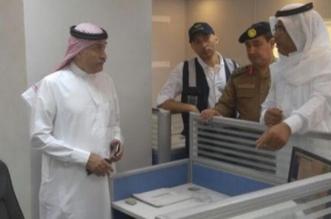 العبدالوهاب متفقداً الأحوال المدنية بالمعيصيم: بذل جهد إضافيّ لراحة الحجاج - المواطن