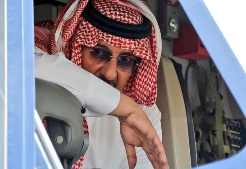 ولي العهد الأمير محمد بن نايف يدشن أحدث طائرة انضمت لطيران الأمن