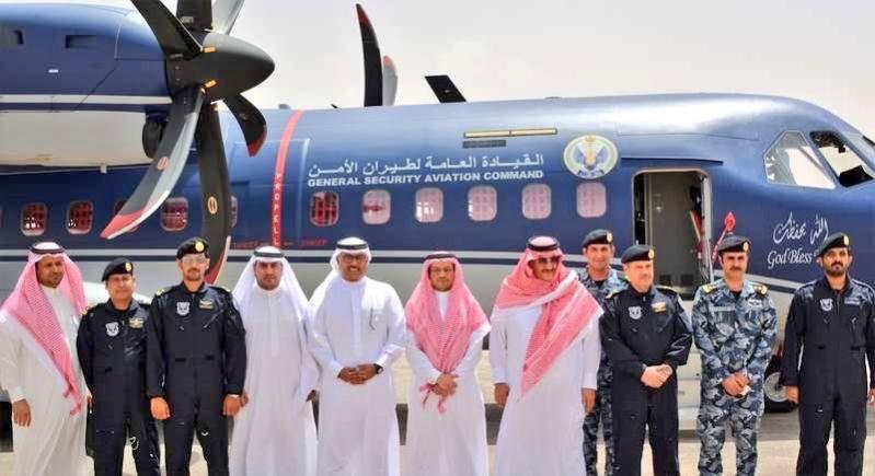 ولي العهد الأمير محمد بن نايف يدشن أحدث طائرة انضمت لطيران الأمن 1
