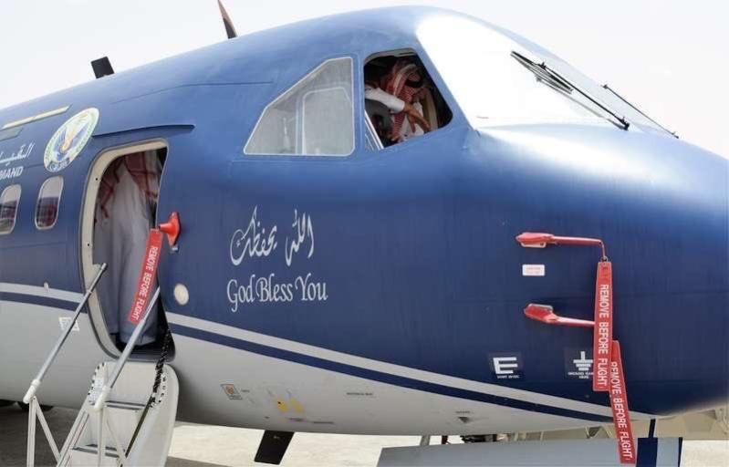 ولي العهد الأمير محمد بن نايف يدشن أحدث طائرة انضمت لطيران الأمن 3