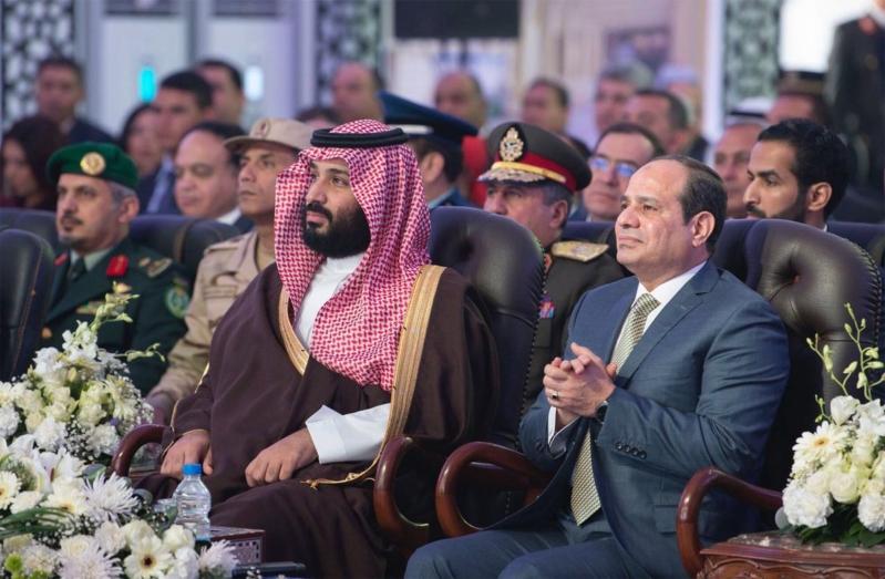 بالصور.. جولة اليخت وافتتاح منتجع الفرسان في اليوم الثاني لزيارة ولي العهد للقاهرة