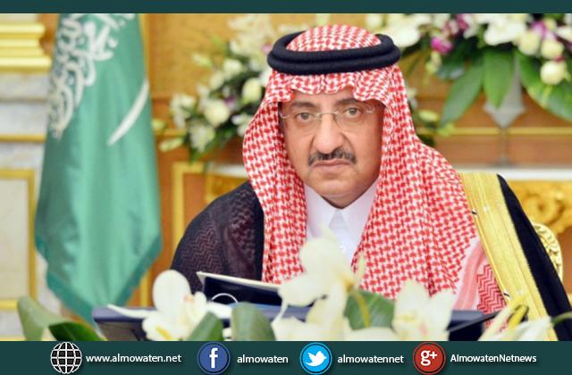 ولي العهد يعزي نائب رئيس الجمهورية اليمنية في وفاة شقيقه