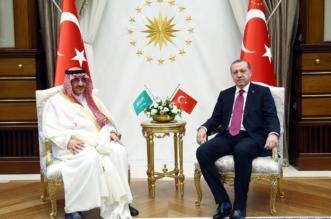 ولي العهد مع اردوغان1