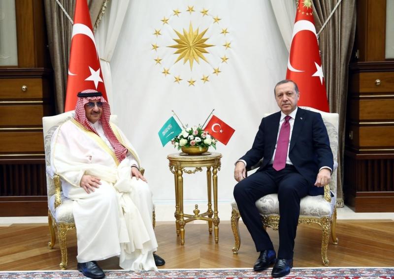 ولي العهد مع اردوغان15