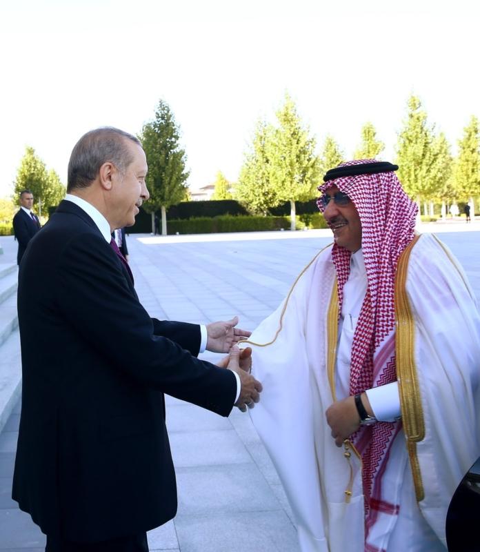 ولي العهد مع اردوغان17