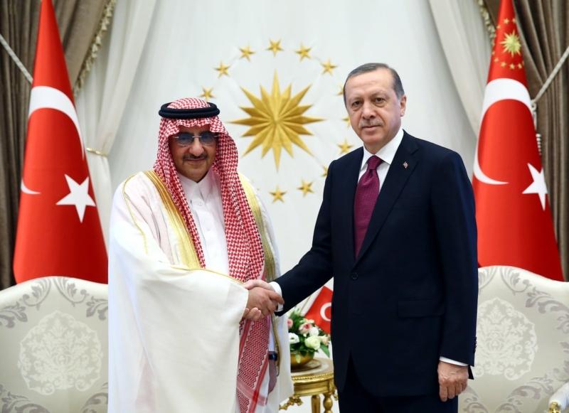 ولي العهد مع اردوغان2