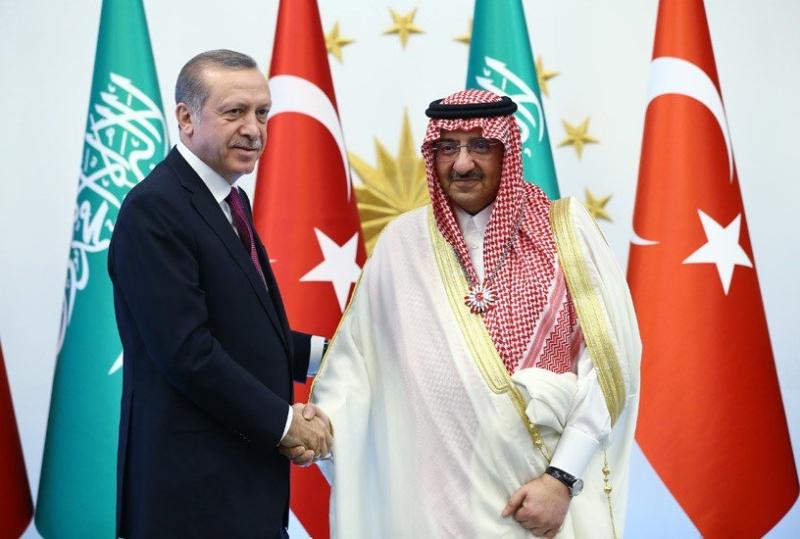 ولي العهد مع اردوغان3