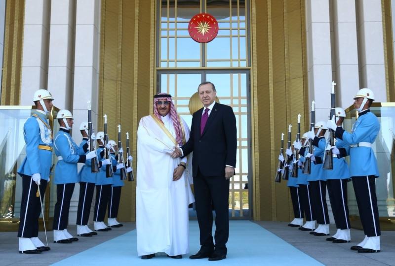 ولي العهد مع اردوغان8