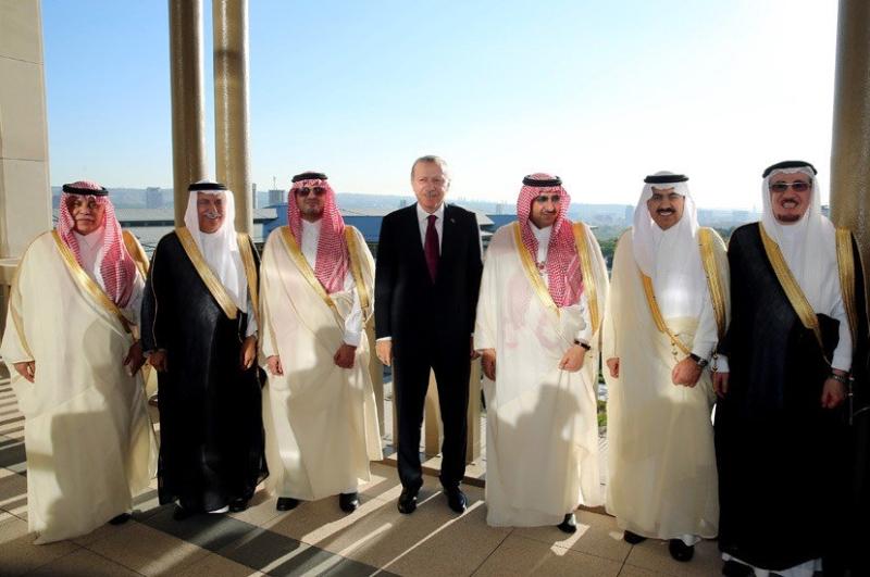 ولي العهد مع اردوغان9