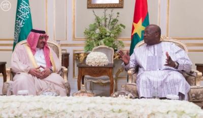 ولي العهد مع رئيس بوركينا فاسو2