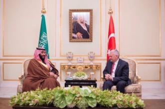 بالصور .. ولي العهد يلتقي رئيس وزراء جمهورية تركيا - المواطن