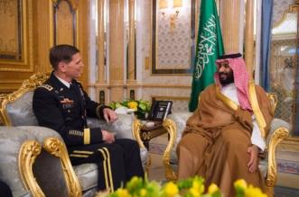 ولي العهد يبحث جهود مكافحة الإرهاب مع قائد القيادة المركزية الأميركية - المواطن