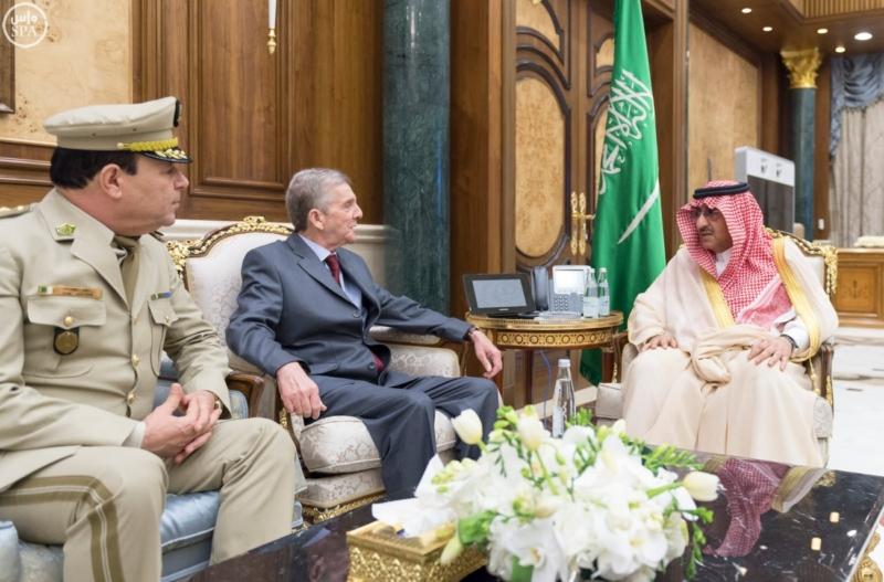 ولي العهد يبحث مع سفير الجزائر عددًا من القضايا المشتركة1