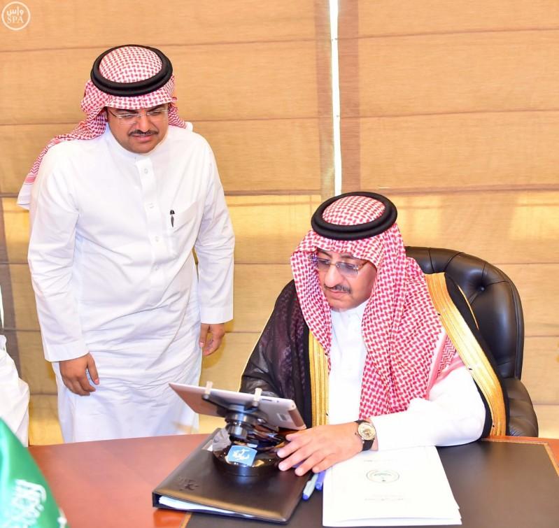 ولي العهد يدشن مشروع الملك عبدالله.jpg 2