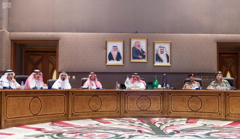 ولي العهد يدشن مشروع شبكة الألياف البصرية لوزارة الداخلية في مدينة الرياض 1
