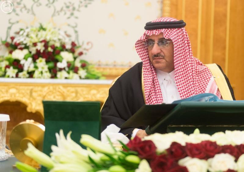ولي العهد يرأس مجلس الوزراء3