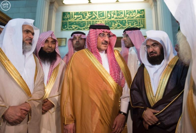 ولي العهد يزور المسجد النبوي  (34669061) 