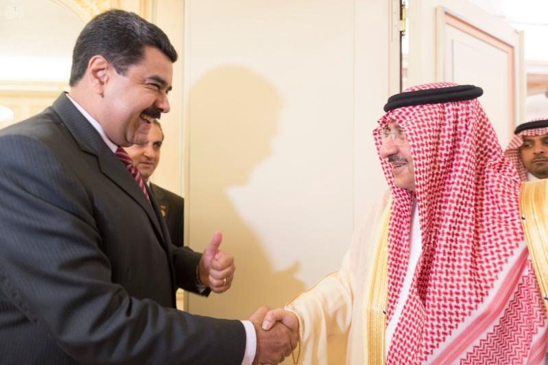 ولي العهد يستقبل الرئيس الفنزولي 2