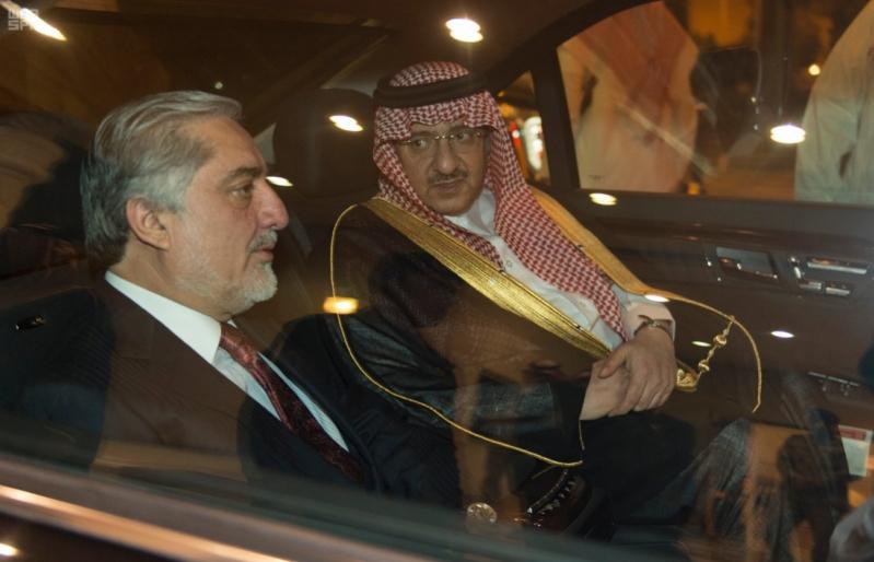 ولي العهد يستقبل رئيس افغانستان التنفيذي 2