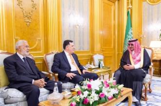 #ولي _العهد يستقبل رئيس حكومة الوفاق الليبي - المواطن