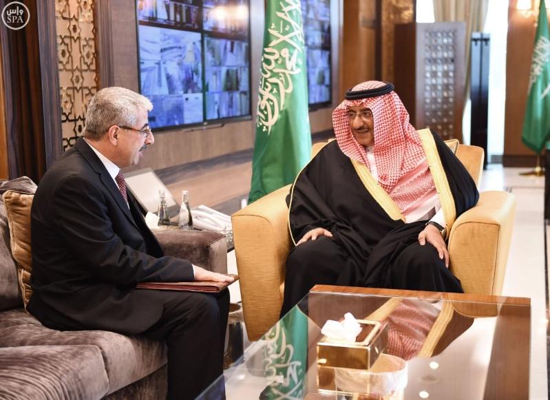 ولي العهد يستقبل سفير جمهورية تونس لدى المملكة.