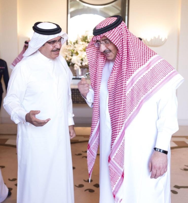 ولي العهد يستقبل وزير داخلية البحرين في جدة (3)