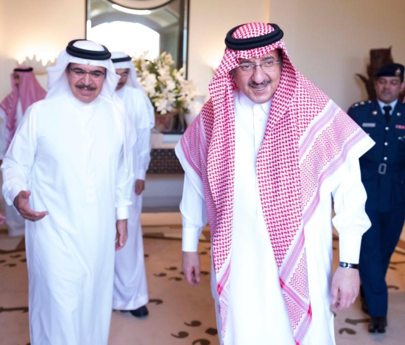 ولي العهد يستقبل وزير داخلية البحرين في جدة (4)