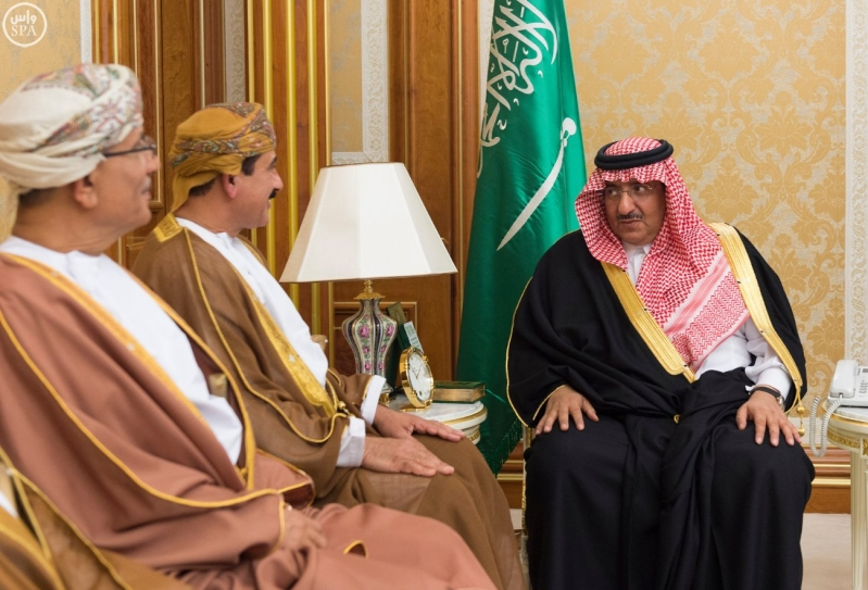 ولي العهد يستقبل وزير سلطة عمان3