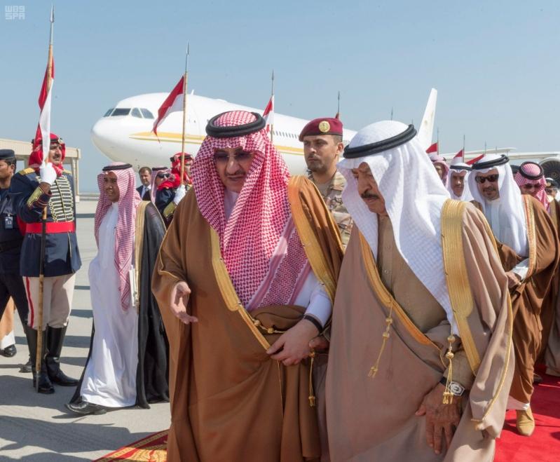 ولي العهد يصل البحرين (1)