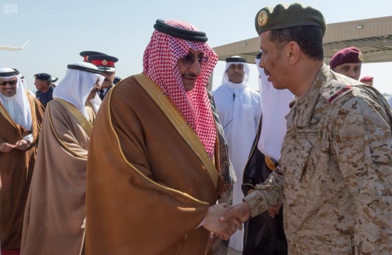 ولي العهد يصل البحرين (2)