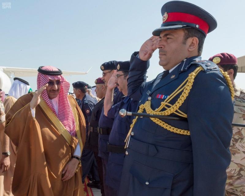 ولي العهد يصل البحرين (3)