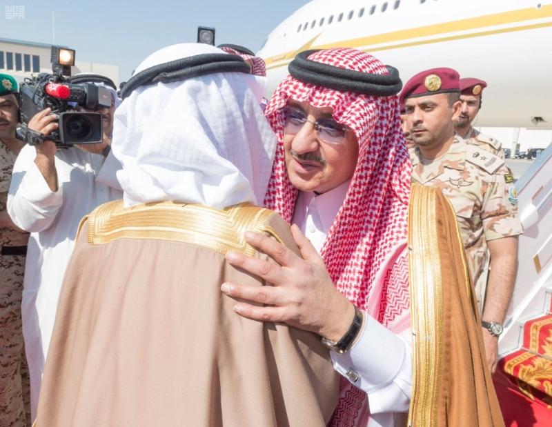 ولي العهد يصل البحرين (4)