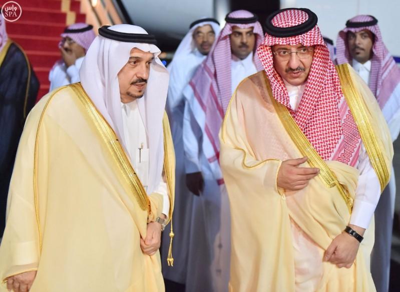 ولي-العهد-يصل-الرياض