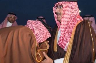 بالصور .. #ولي_العهد يغادر حفر الباطن إلى الرياض ومحمد بن سلمان في مقدمة مودعيه - المواطن