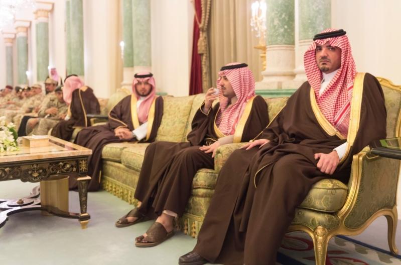 ولي العهد يقيم مأدبة عشاء لرئيس وزراء الجزائر7