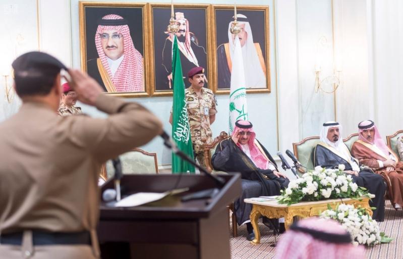 ولي العهد يلتقي قادة القطاعات العسكرية10